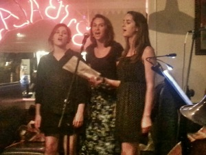 The GGs (l-r: Vanessa Rose, Edwige Yingling, Sophie Yingling)