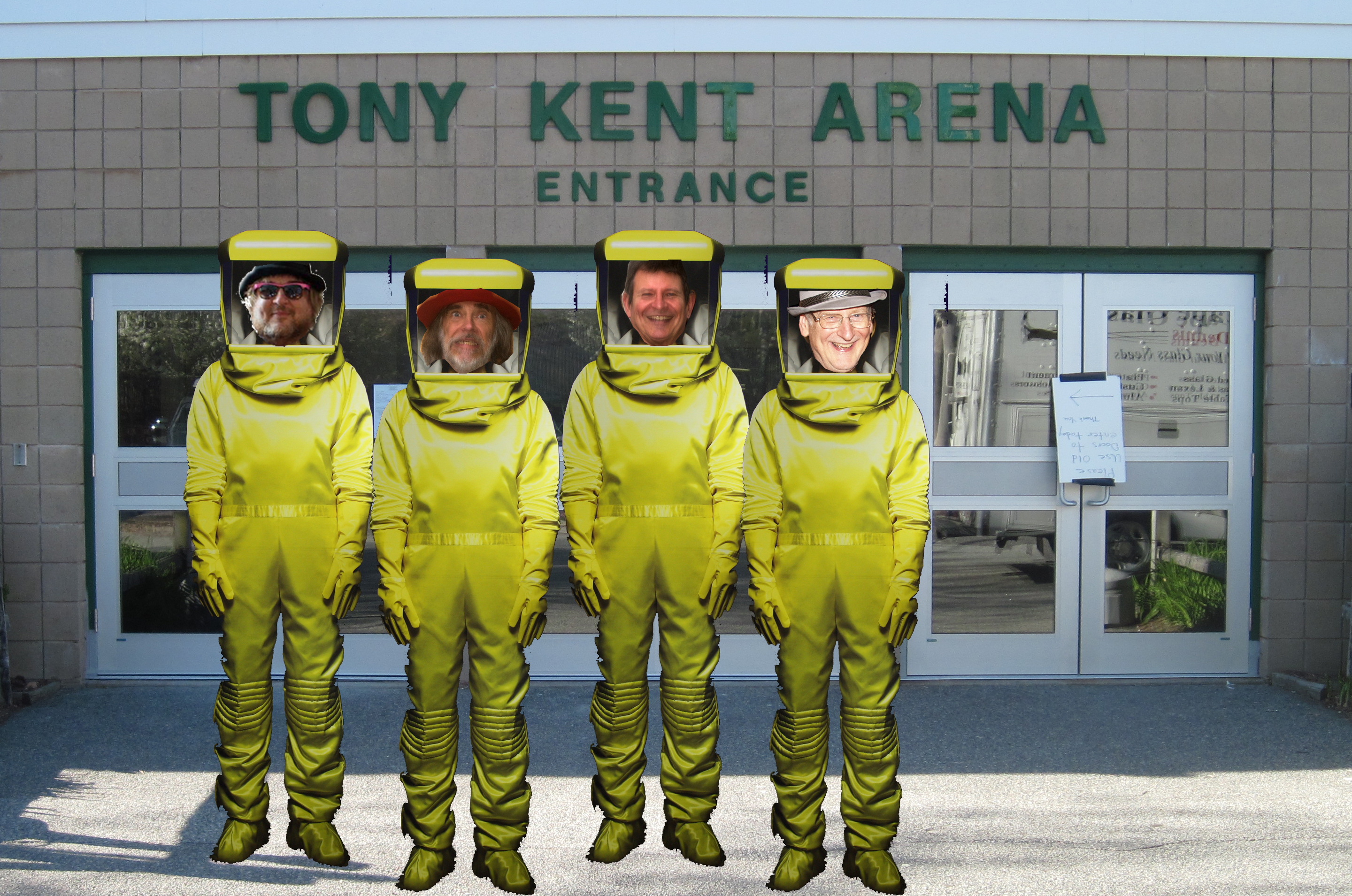 Tony Kent Arena Hazardous Waste Drop