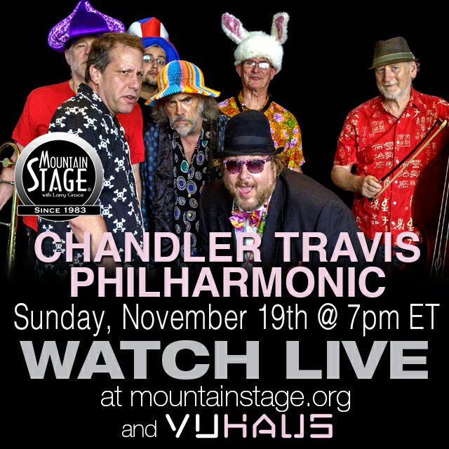 Watch us Live online from Mountain Stage