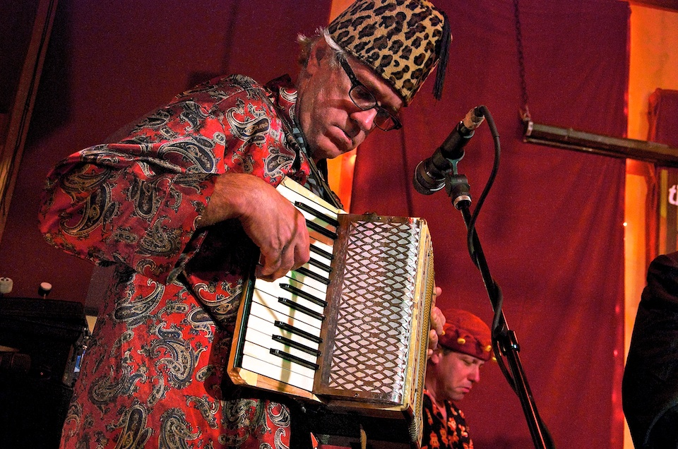 Dinty w accordion at Living Room 11/15/11