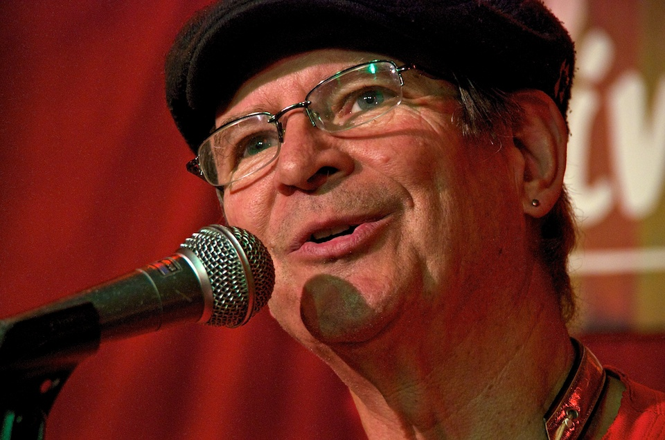 Berke singing at Living Room 11/15/11