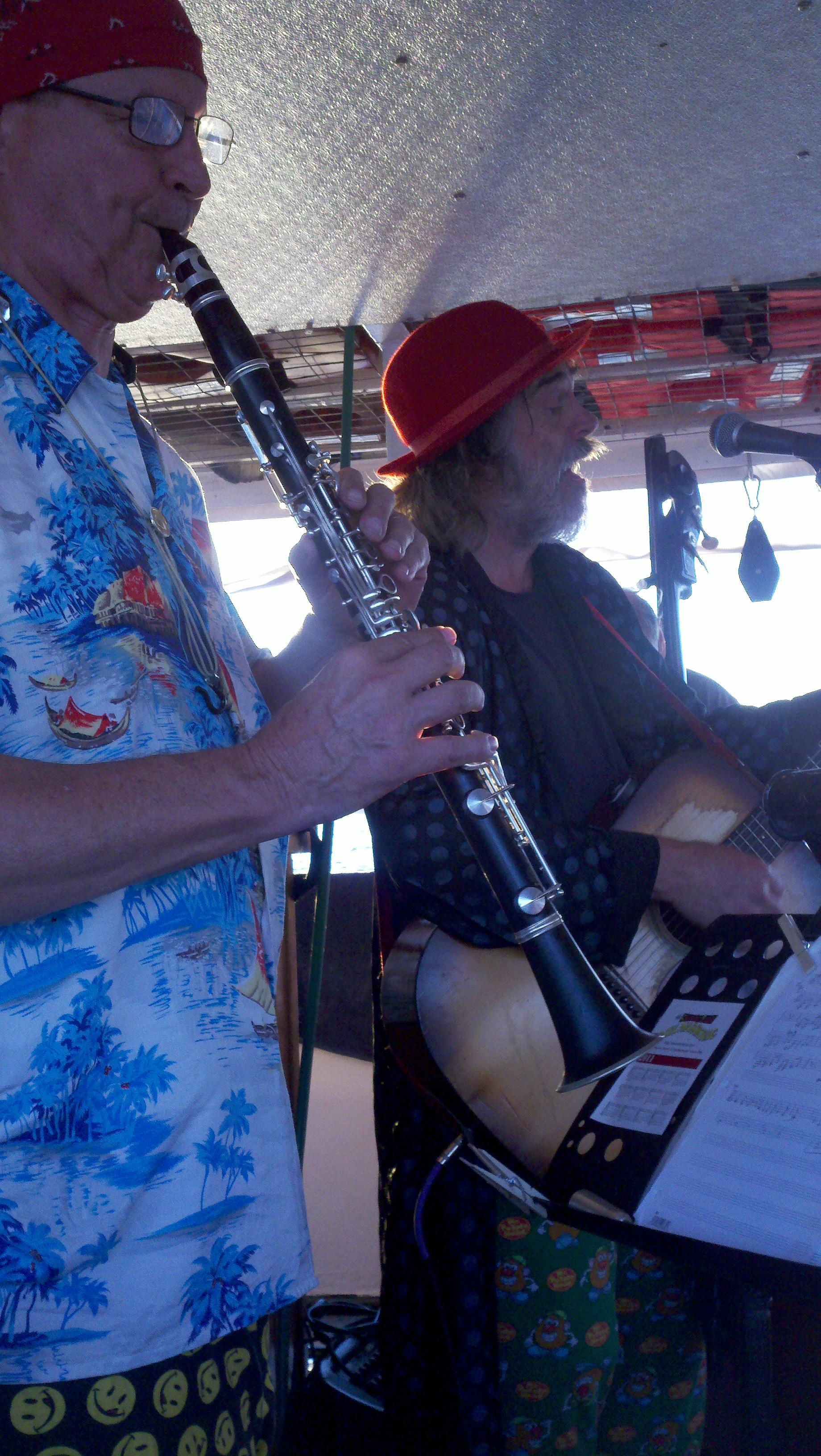 Berke & Chandler on Viking Princess 2011