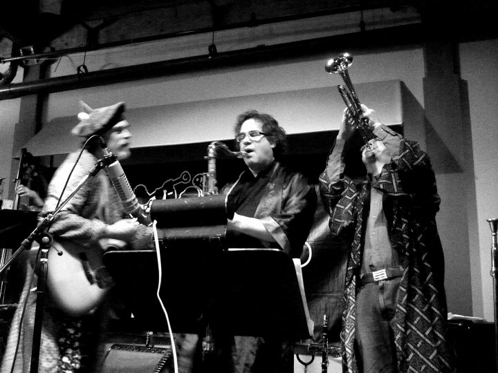 Chandler, Keiichi, Mike Moss at Bop Shop, March 2010