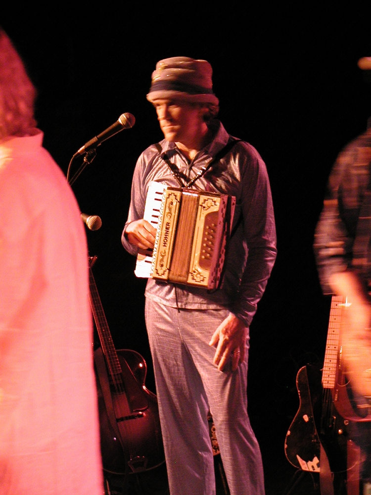 Dinty on 2003 Southern Tour
